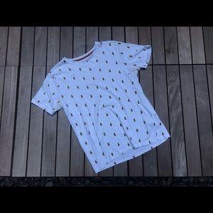 DENIM & FLOWER | Pineapple Print T-Shirt